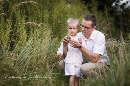 Sesja tata i dziecko. Ojciec z synem sesja rodzinna kraków