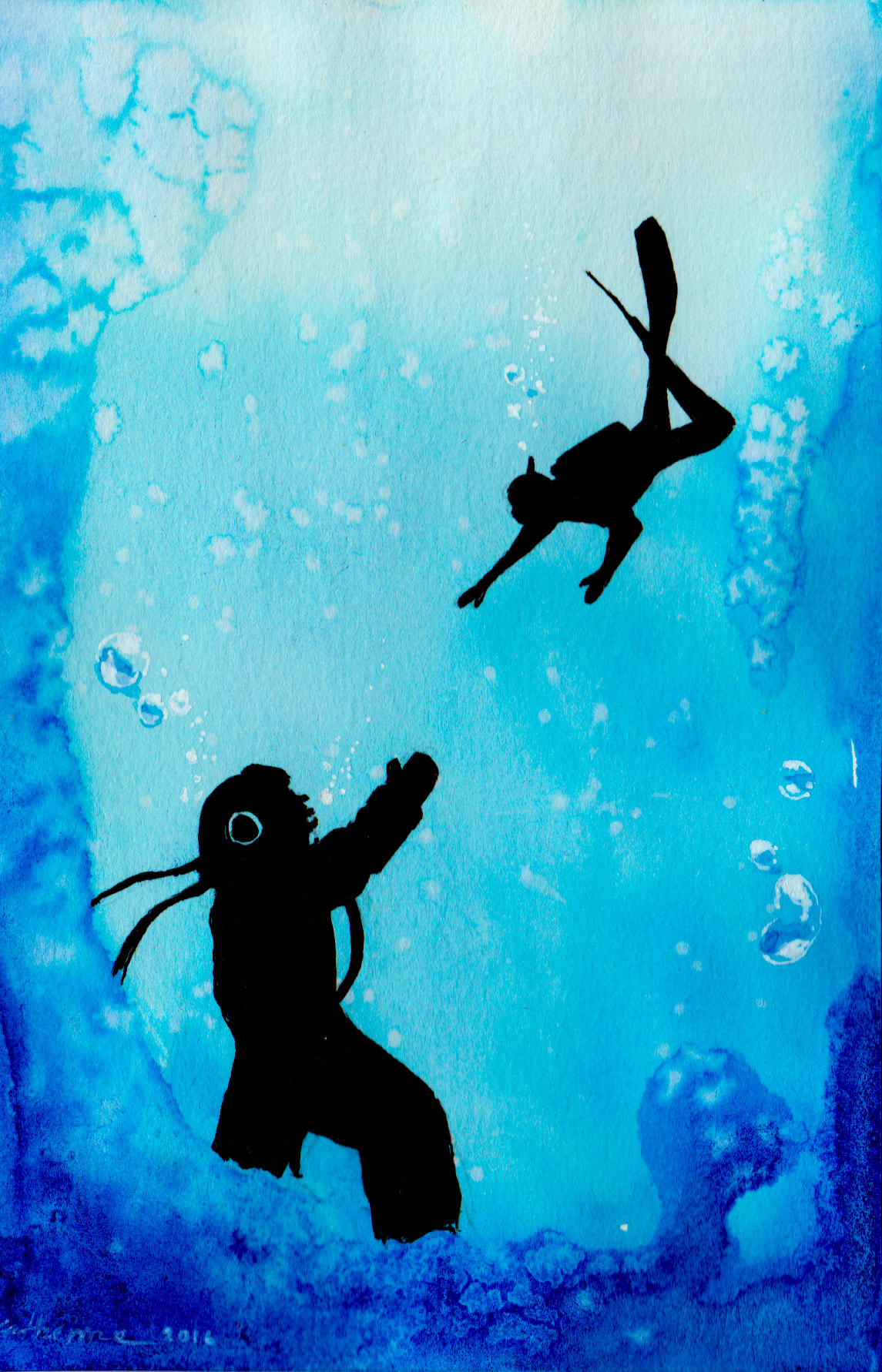 Two Divers: An Impossibly Beautiful Love Story!