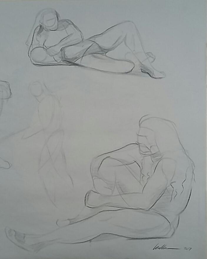 10-Minute Figure Drawings
