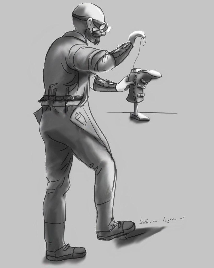 Shoemaker Character Digital Final