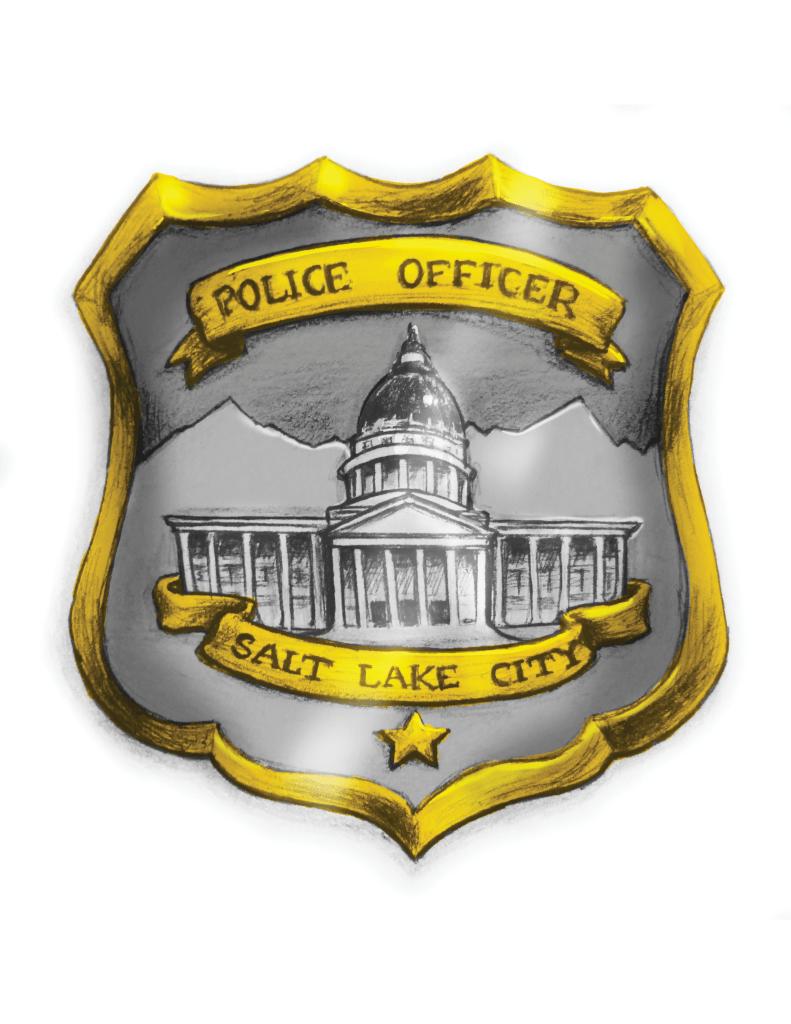 Salt Lake City Police Badge Redesign Mockup