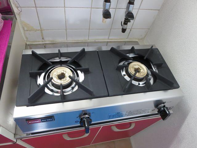 ●キッチンに超~武骨で男前なコンロを設置!!