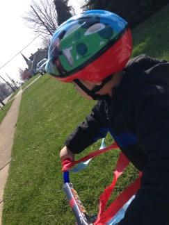 CJ bike ride