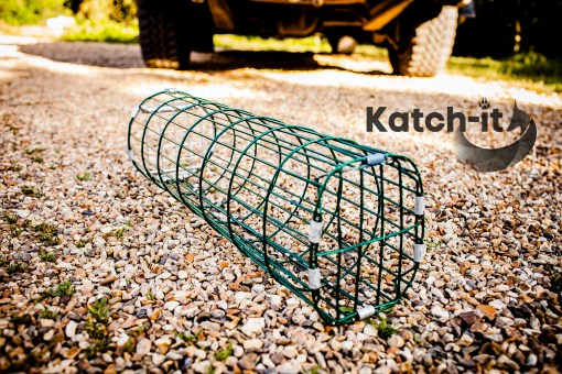 A picture of a Rabbit bolt trap madee by Katch-It