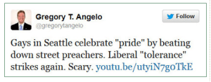 gregory t angelo pride tweet