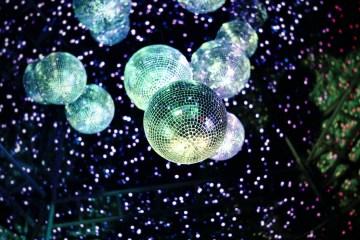 mirror ball party disco
