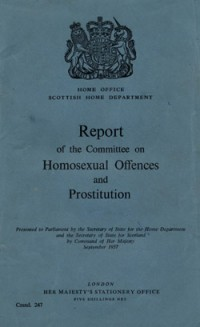 Wolfenden_report The History of Homosexuality: Wolfenden to Legalisation