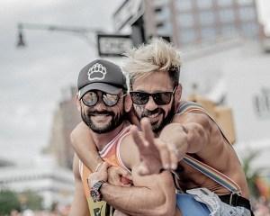 gay men couple pride