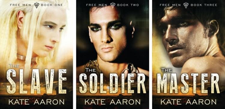 free men series slave soldier master kate aaron
