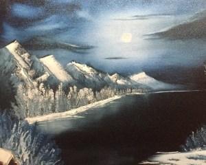 kate aaron winter moon bob ross