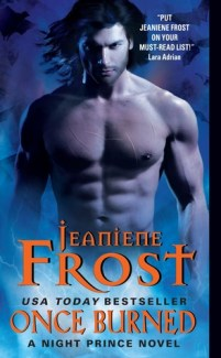 Once Burned by Jeaniene Frost Urban Fantasy night prince paranormal vampires fantasy romance