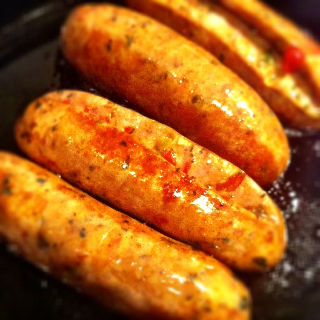 Sausage, Greens & Beans