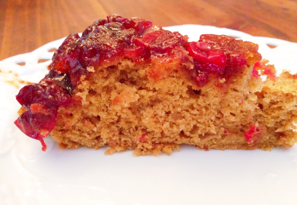 Gluten Free Cranberry Upside Down Cake
