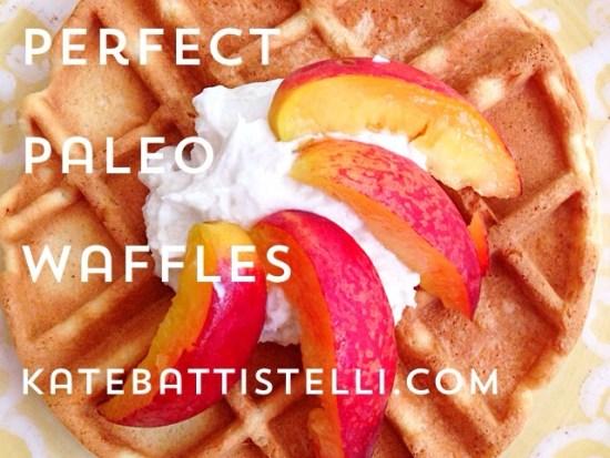 Perfect Paleo Waffles