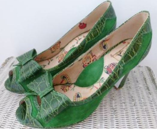 Vintage Miss L Fire shoes