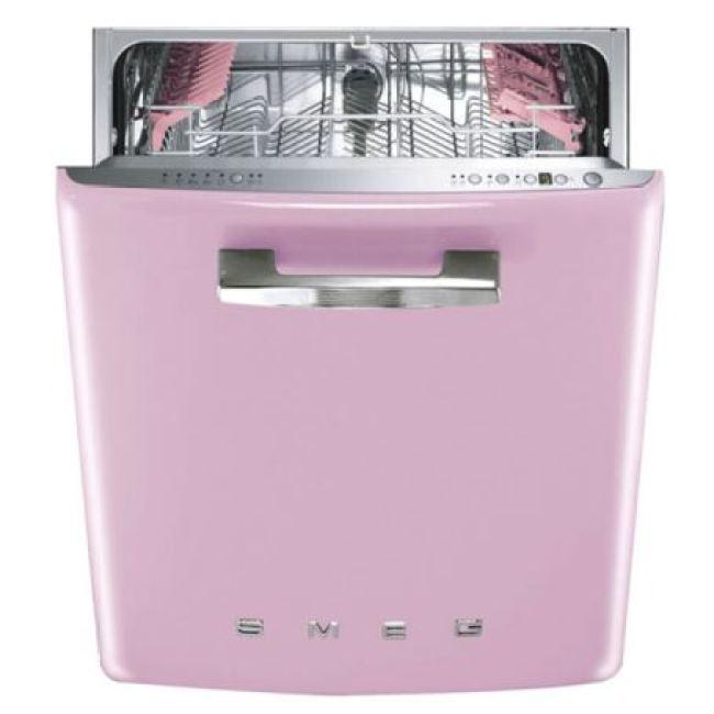 smeg washing machine as featured on Kate Beavis Vintage Home blog
