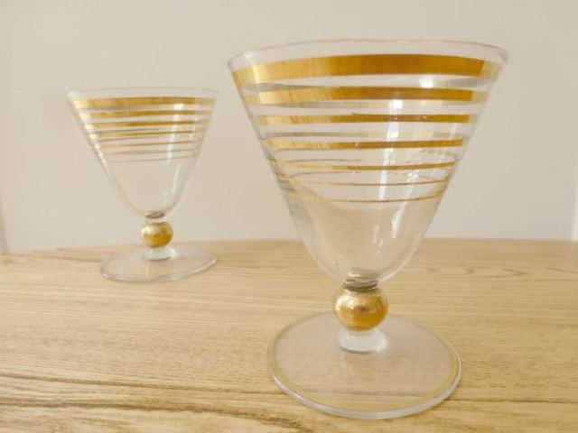 Vintage 1920s barware cocktailware for your retro party