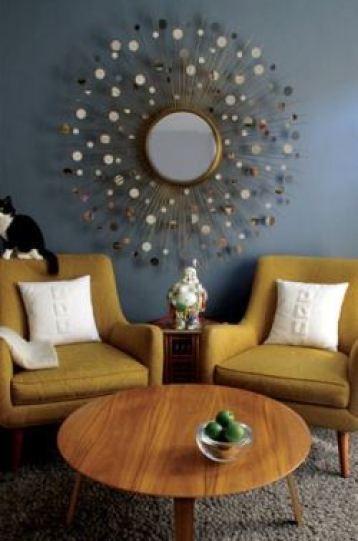 grey mid century design ideas from Kate Beavis