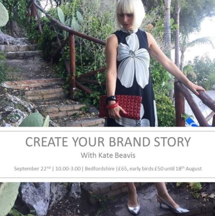 Create your brand story with Kate Beavis  september 2015