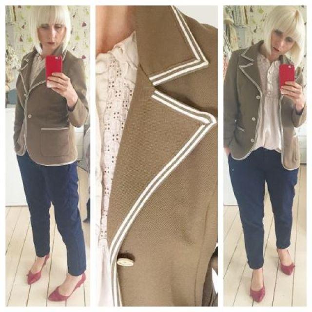 Vintage 1970s blazer as worn by Kate Beavis