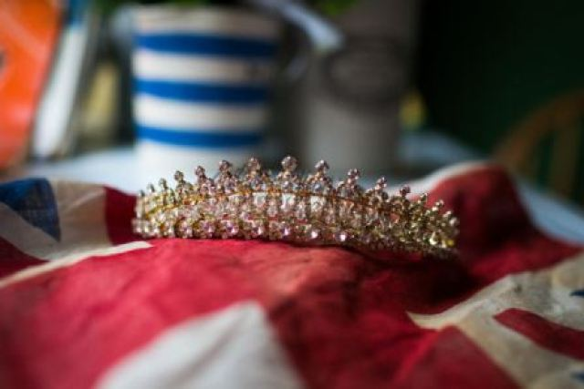 1940s vintage wedding tiara from the National Vintage Wedding Fair