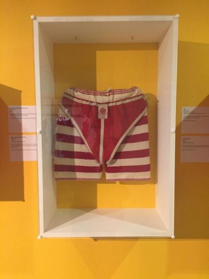 Vintage Victorian/Edwardian swimwear swimming costume as featured on Kate Beavis Vintage Blog (from the F&T museum)