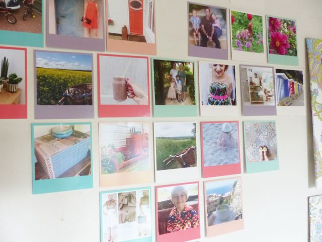 Print your Instagram photographs with Square Snaps as featured on Kate Beavis vintage home blog