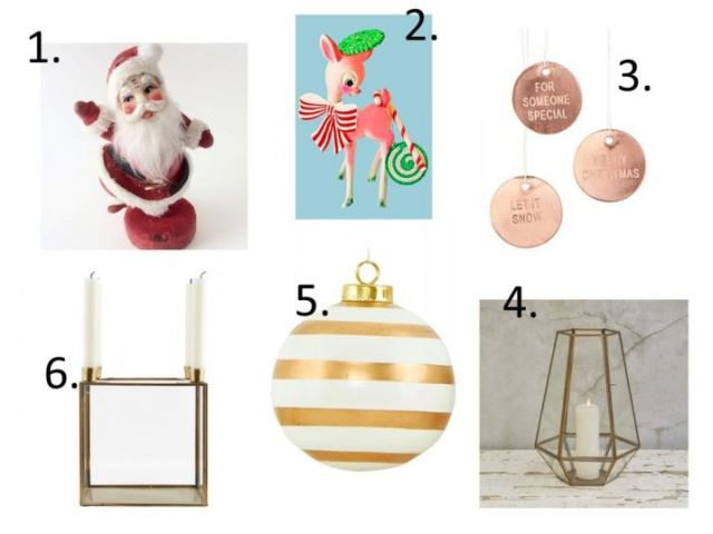 indie christmas vintage style as featured on Kate Beavis vintage blog