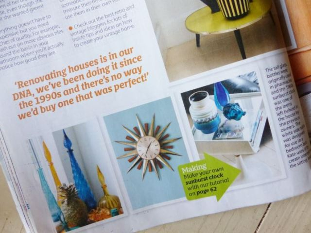 Kate Beavis Vintage Home in Home Style Magazine