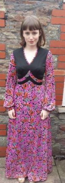 Boho vintage fashion from Lovelys Vintage as featured on Kate Beavis Vintage Blog