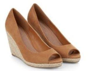 Monsoon wedged shoes as seen on Kate Middleton, boho look - Kate Beavis Vintage Home blog
