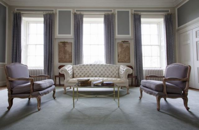 Chesterfield sofa, the Heritage trend, on kate Beavis Vintage Home blog working with The Original Sofa Company