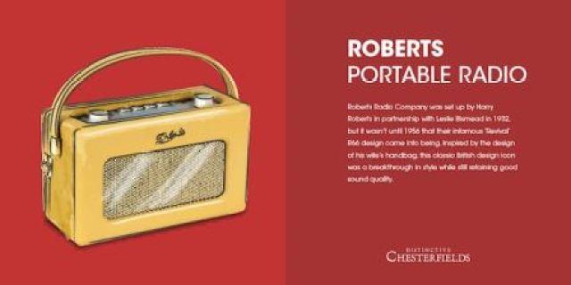 Roberts Radio as featured on katebeavis.com