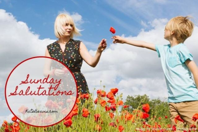 Sunday Salutations from Kate Beavis