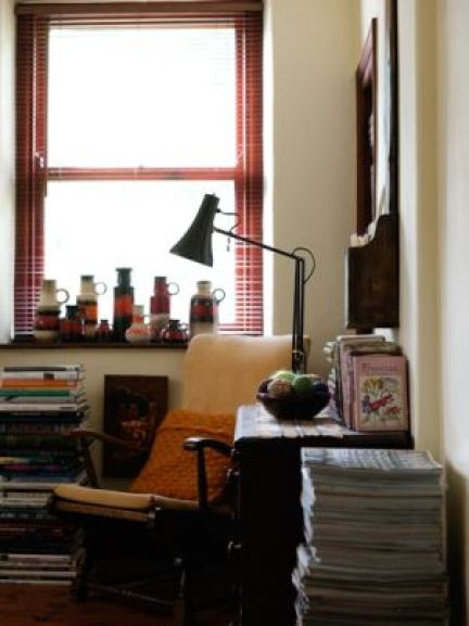 How to create a mid century vintage home office by Kate Beavis