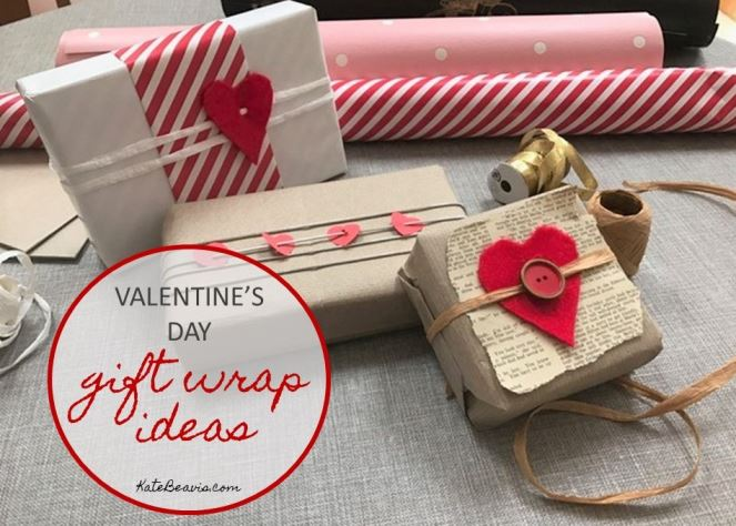 Valentine S Day Gift Wrapping Ideas Kate Beavis Vintage Expert