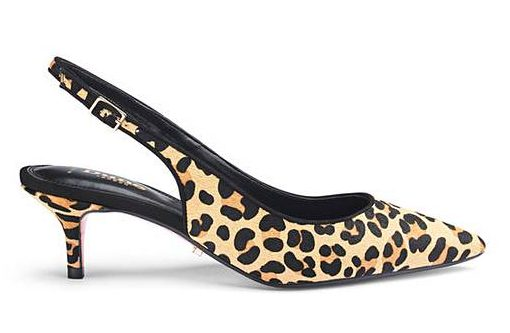 leopard shoes by Simply Be
