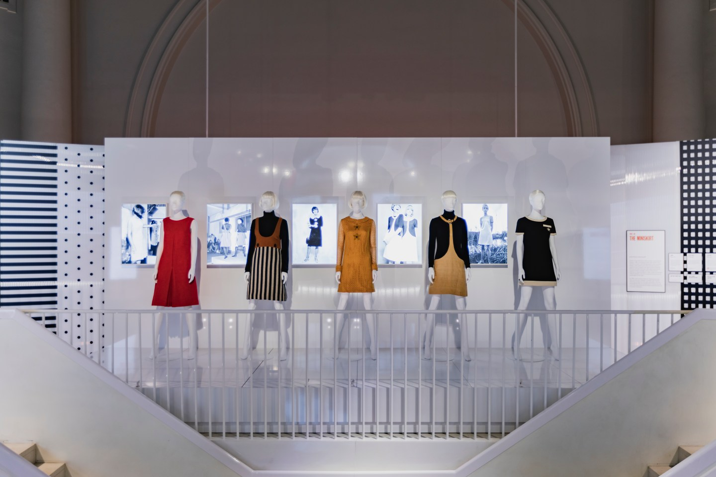 Mary Quant 1960s Fashion Exhibition at the V&A
