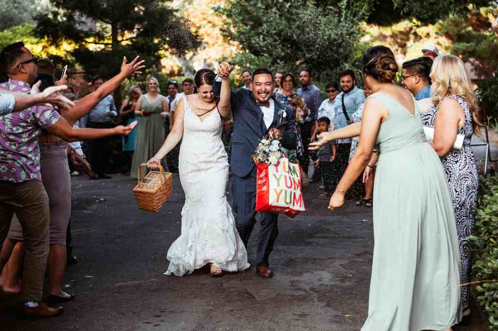 lake arrowhead pine rose wedding