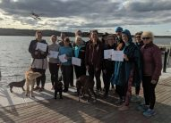 yoga teacher training grad 2019 yellowknife float plane