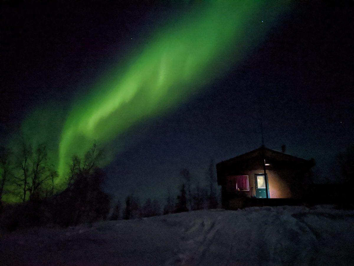 Yellowknife Yoga Teacher Training Aurora Borealis
