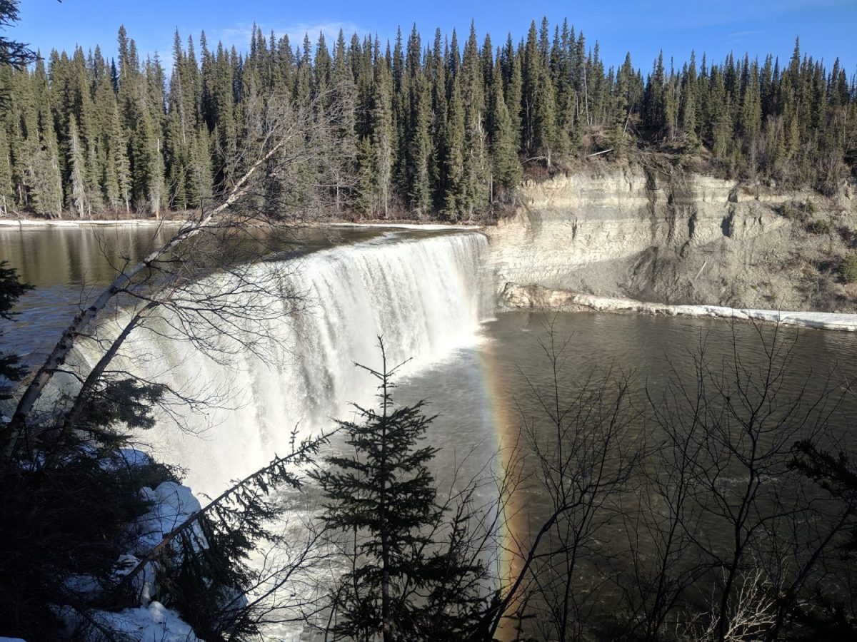 Lady Evelyn Falls Land and Heart Yoga Teacher Training Northwest Territories Canada