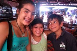 Mele, Lizset and Enrique