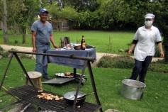 Cooking at the Asado