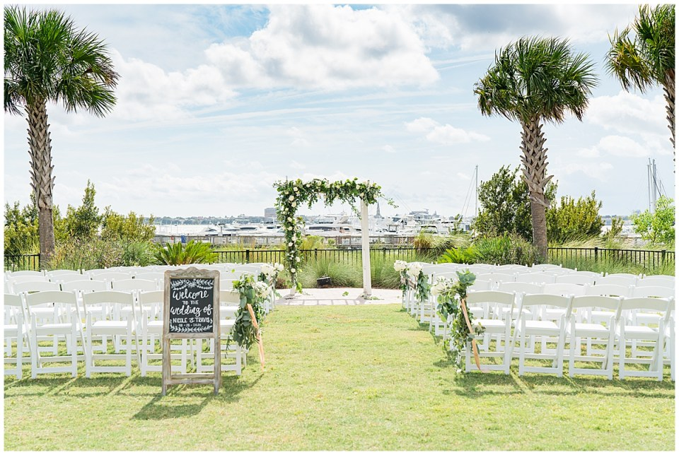 Charleston Harbor Resort Outdoor Beach Wedding Charleston Wedding Photographer_0029.jpg