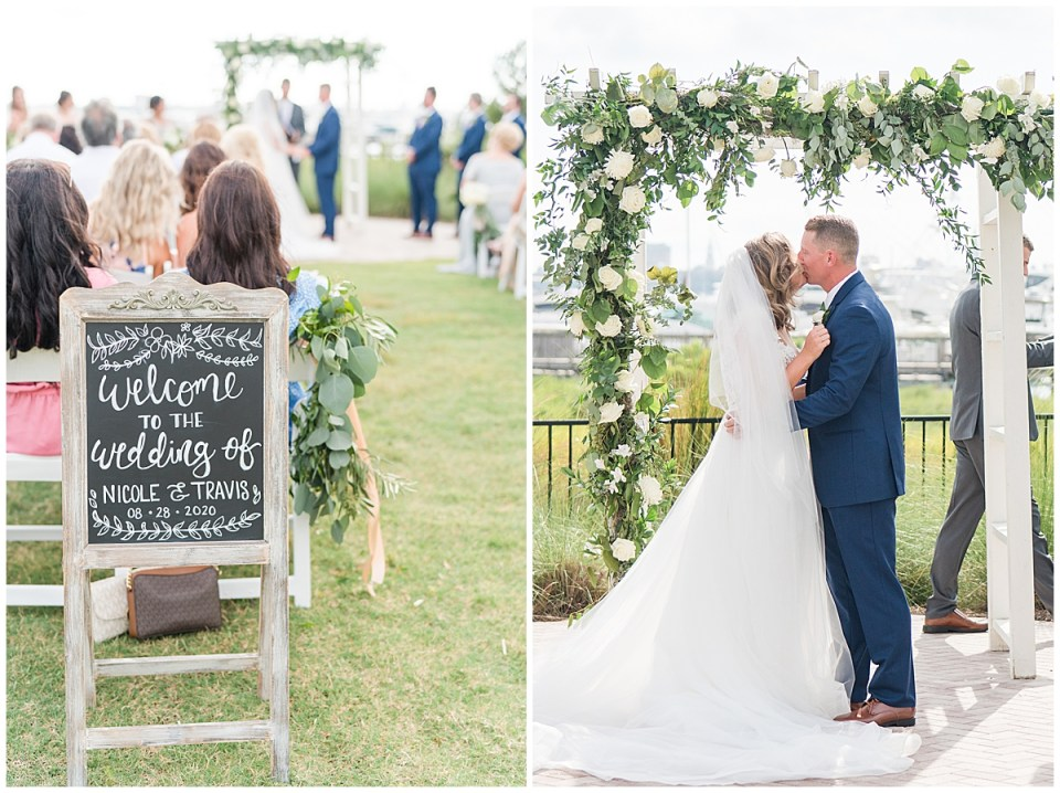 Charleston Harbor Resort Outdoor Beach Wedding Charleston Wedding Photographer_0033.jpg