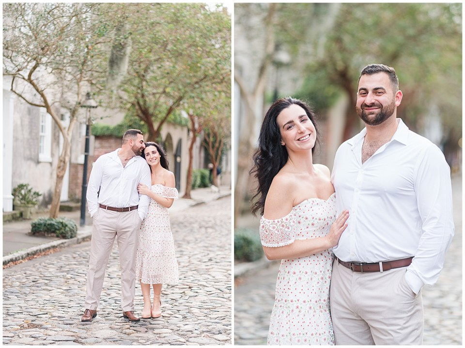 Outdoor Downtown Charleston Engagement Session_0011.jpg
