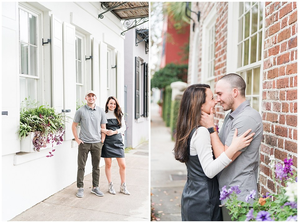 Outdoor Downtown Charleston Engagement Session_0025.jpg