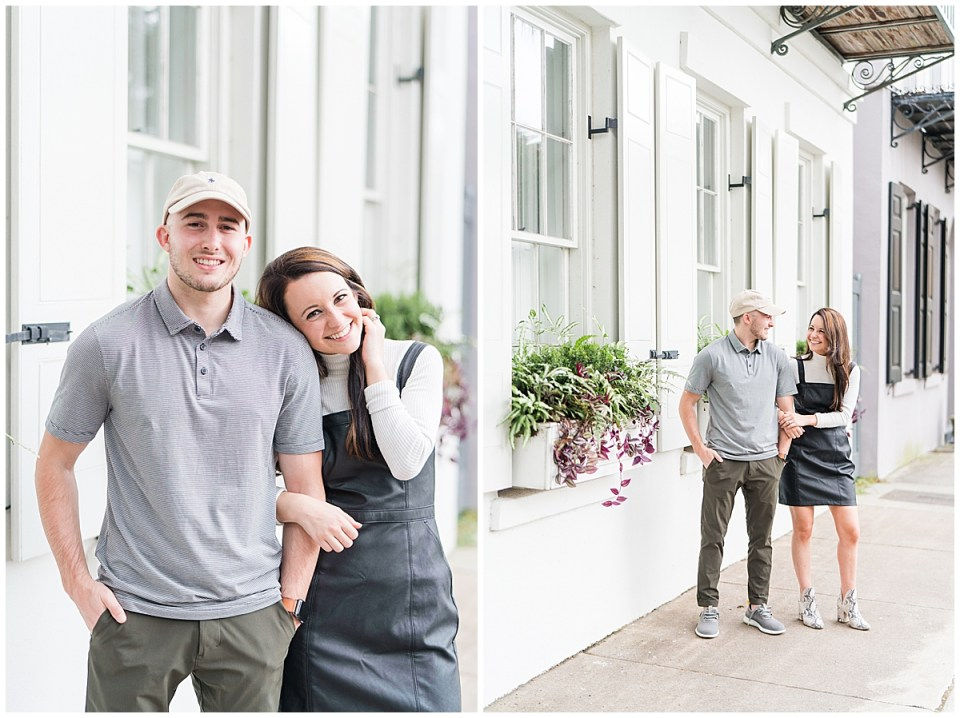 Outdoor Downtown Charleston Engagement Session_0026.jpg
