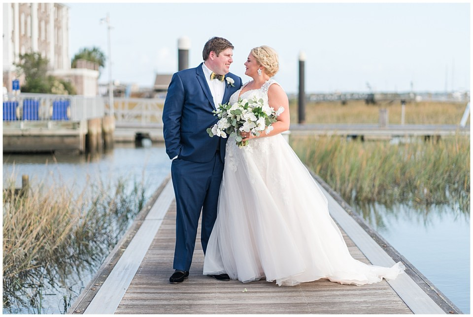 Outdoor Downtown Charleston Nautical Blue and White Wedding_0001.jpg